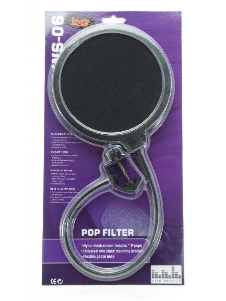 Filtro Anti Pop Para Micrófonos Condensador ProDJ