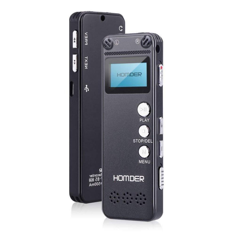 IC02 Grabador Microfono Voz Audio Digital Pequeña Player