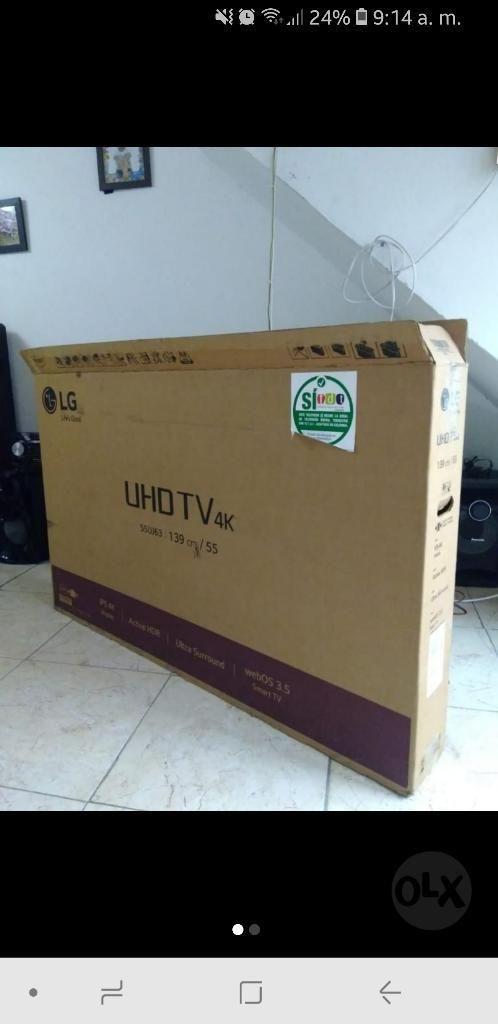 Smart Tv Lg 4k 55