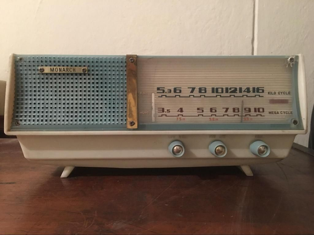 Vendo Radio Monarch Antiguo