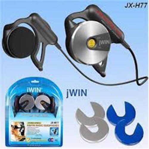 jWin JXH77 Auriculares estéreo deportivos con radio AM / FM
