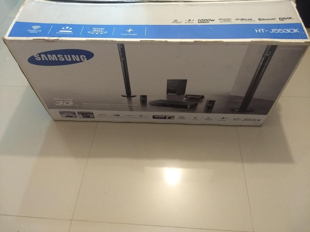 teatro en casa samsung de parales bluray 3d smart tv wifi