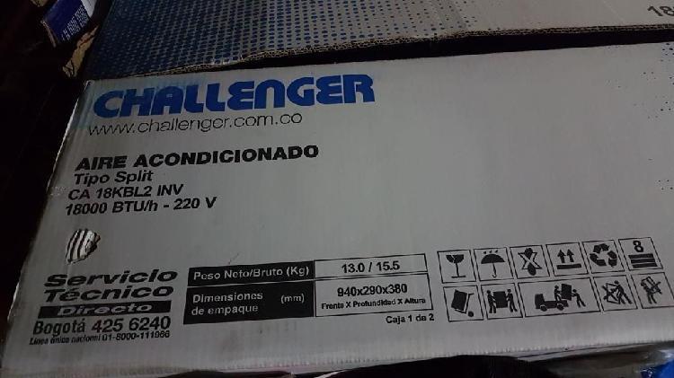 Aire acondicionado Challenger - inverter de 18000 btu