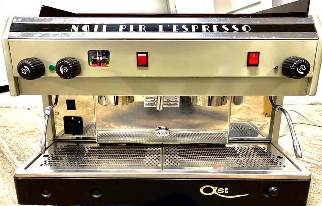 Maquina de Capuchino molino de cafe