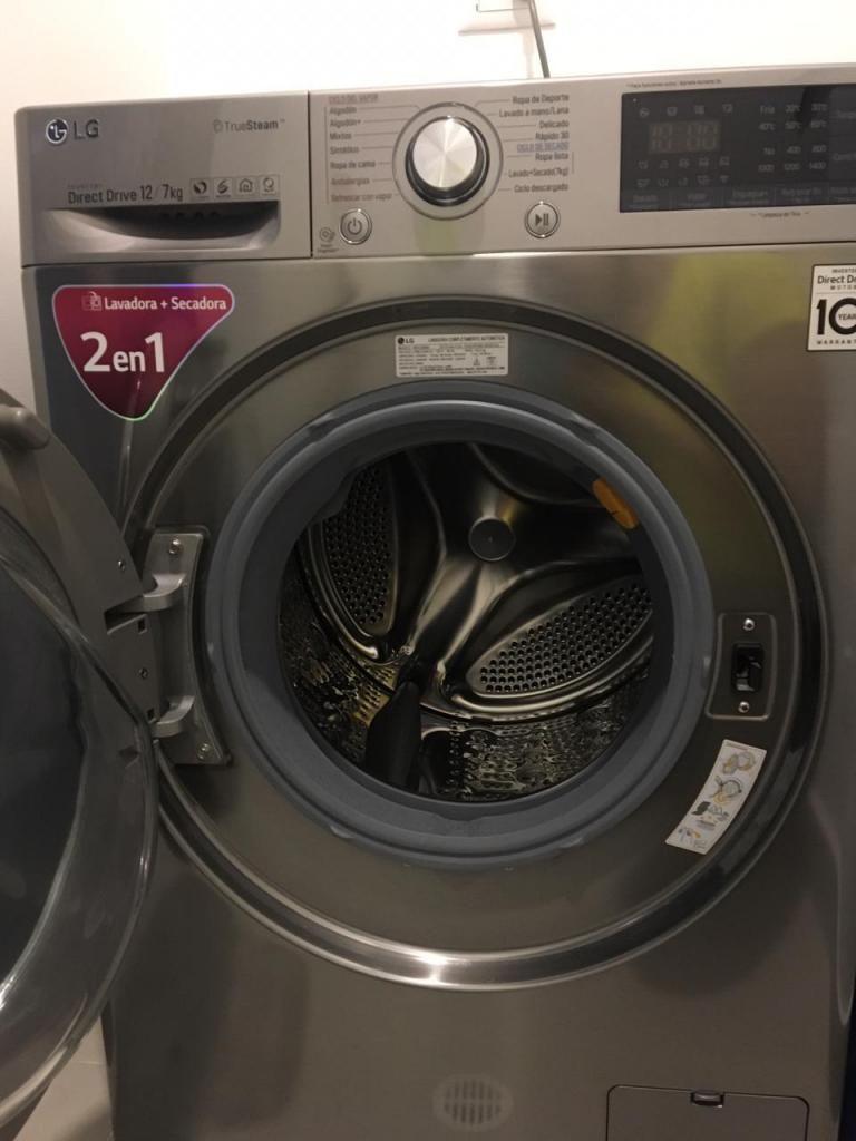 Vendo lavadora/secadora LG CF 12kg