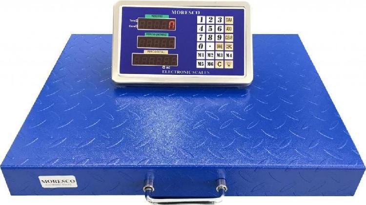 Balanza Bascula Electronica Pesa 400 Kg con tablero