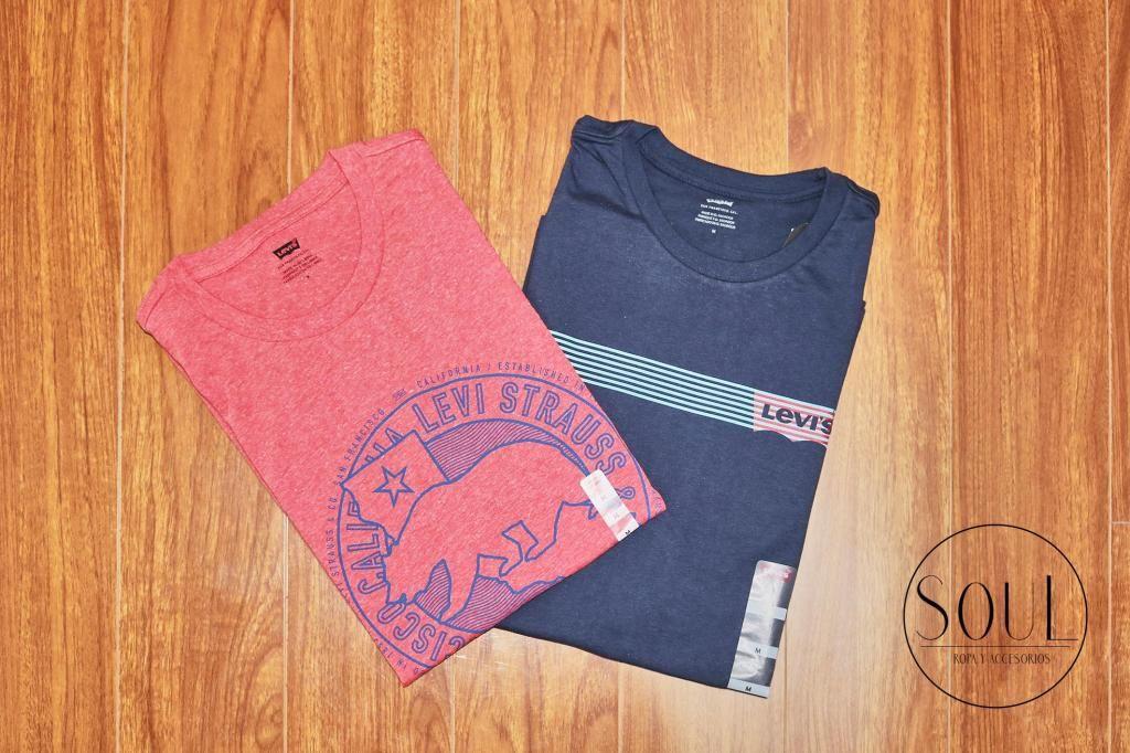 Camisetas Levis Strauss para hombre Ropa importada desde USA