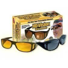 Gafas Hd Vision Combo Dia Y Noche...NUEVAS...DOMICILIO