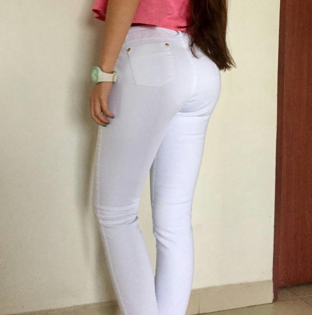 Se Vende Pantalón Blanco