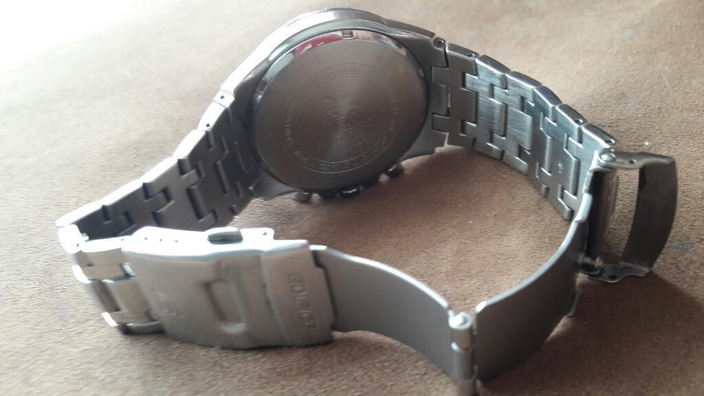 Vendo Reloj Edifice Casio para Hombre