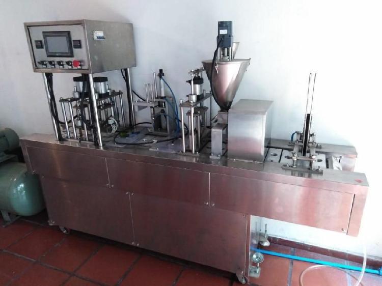 planta para producción de capsulas de café