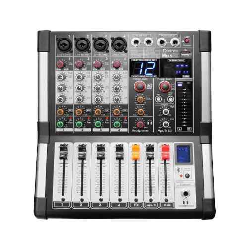 Mezclador De Audio Mixer 4 Canales Vento Mix4fx Efectos Dsp