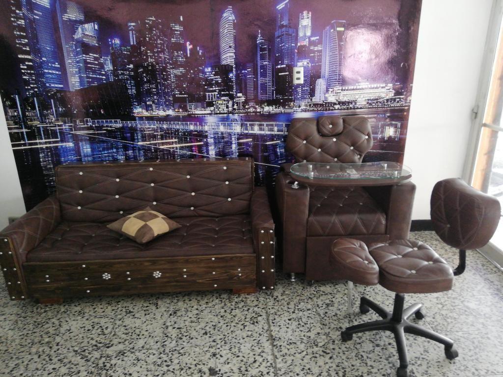 Se vende mobiliario para barberia buen precio
