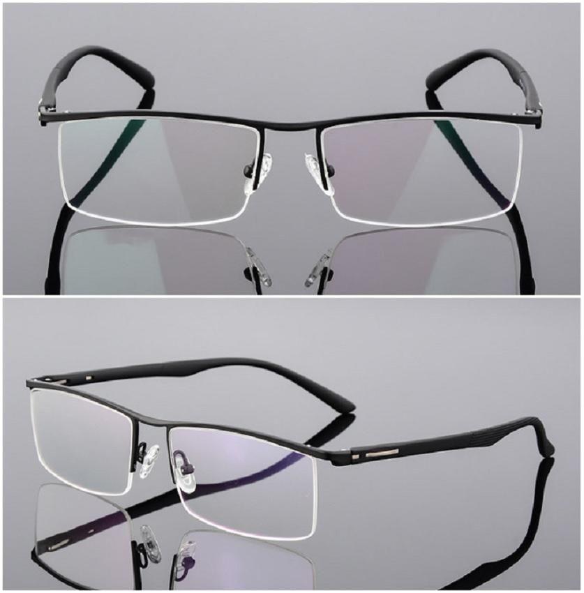 BCLEAR Gafas para Lentes Formulados Aleación de Titanio