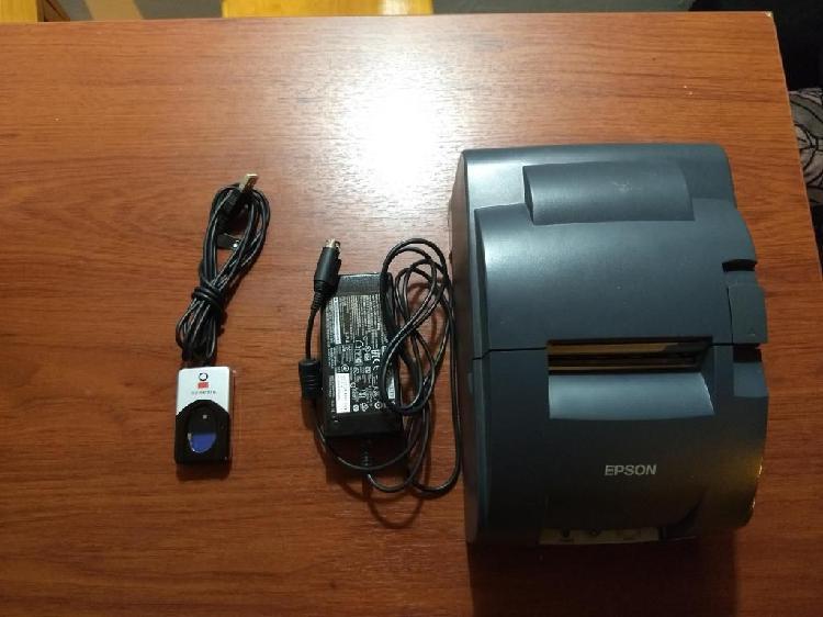 Epson Tmu220d / Lector biométrico