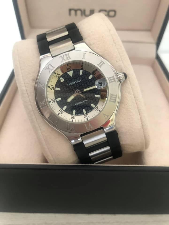 Reloj Cartier Autoscaph Ref  para caballero