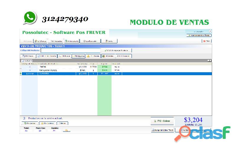 Software Punto De Venta Para Minimarket.