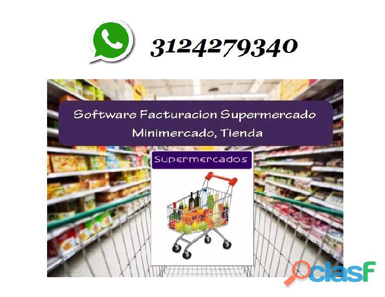 Software Punto De Venta Para Supermercados.