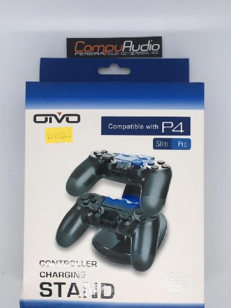 Dock Cargador doble para controles de play station 4