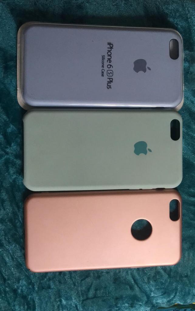Funda Silicona Silicone Case Para iPhone 6 6s 7 8 Plus - $ 59999