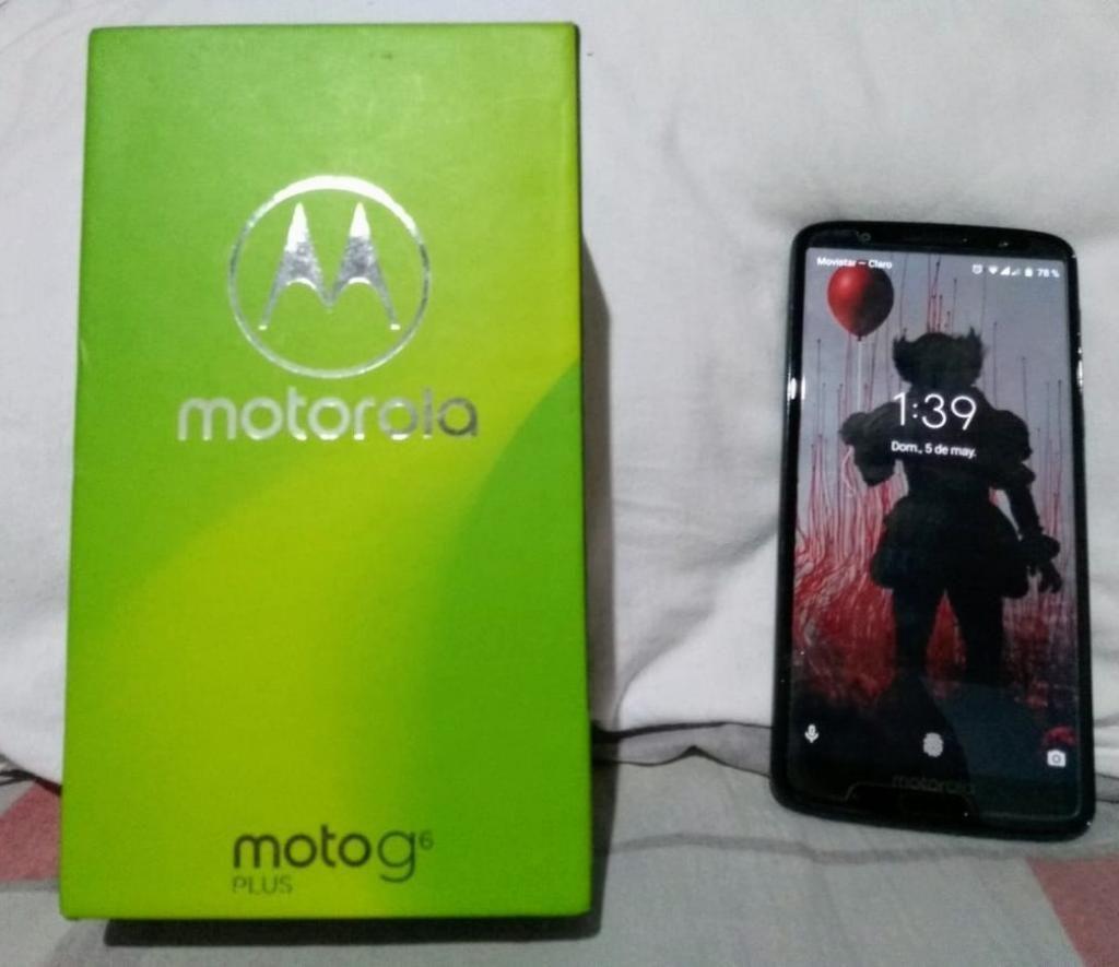 Vendo Moto G6 Plus