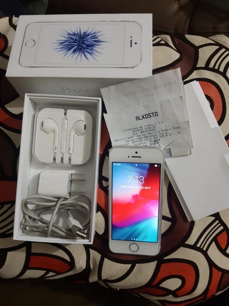 iPhone Se 32gb Como Nuevo Garantia Aun C