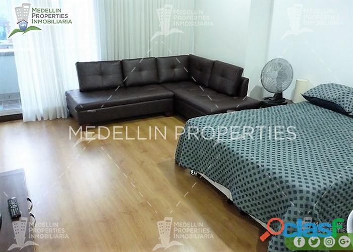 Apartamentos Amoblados en Alquiler Medellín Cód: 4544