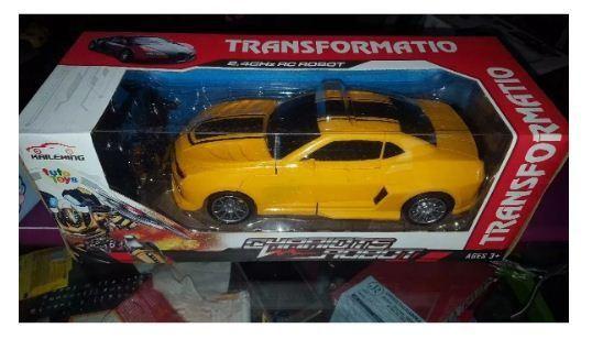 Carro A Control Remoto Robot Transformatio 2.4ghz