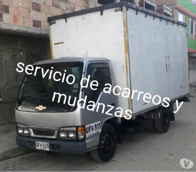 SERVICIO ACARREOS Y MUDANZAS 3204213531 LLAMA YA