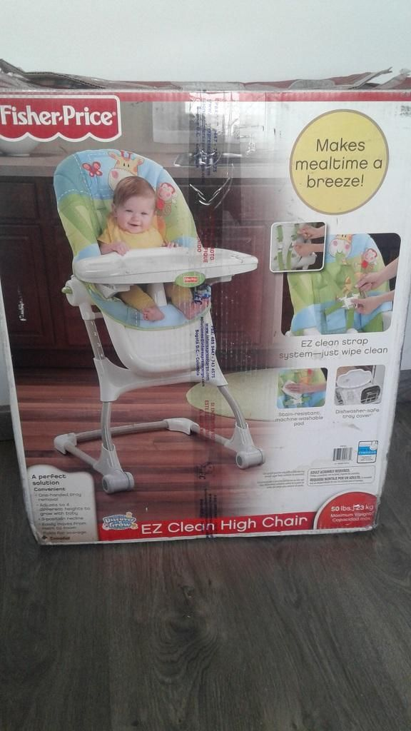 Silla comedor Fisher Price original excelente estado