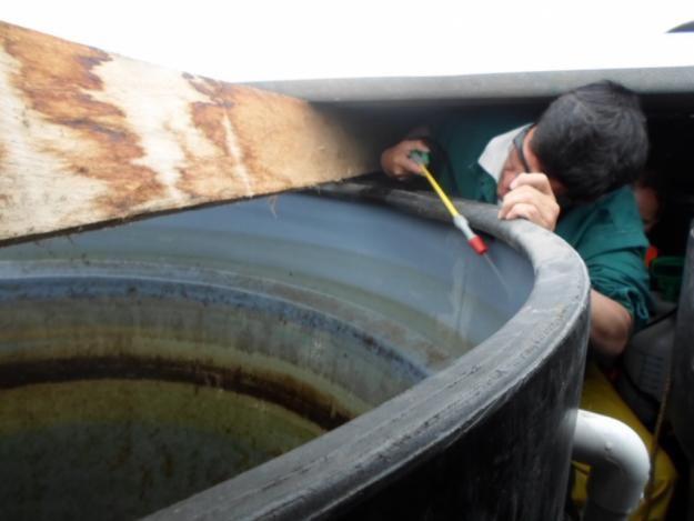 Lavado, limpieza y desinfección de tanques de agua potable
