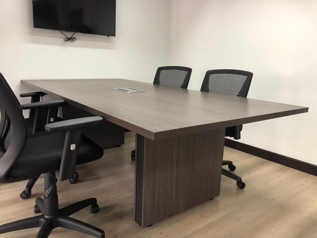 Mesa sala de juntas 8 puestos (Solo mesa) no incluye sillas