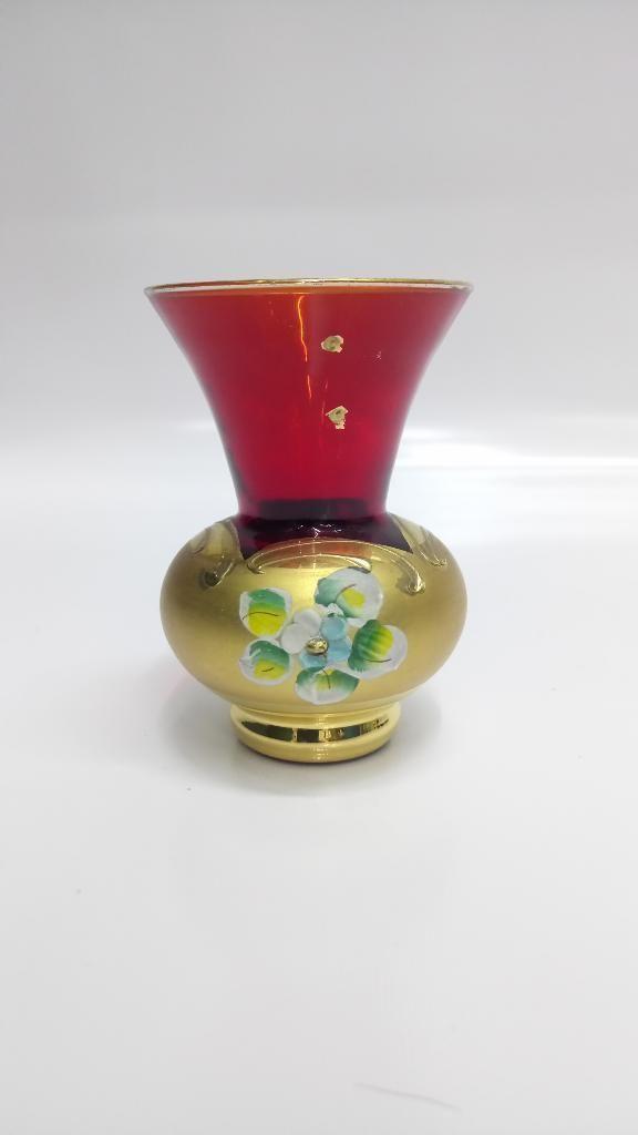 Florero Mini Cristal Murano Antiguo