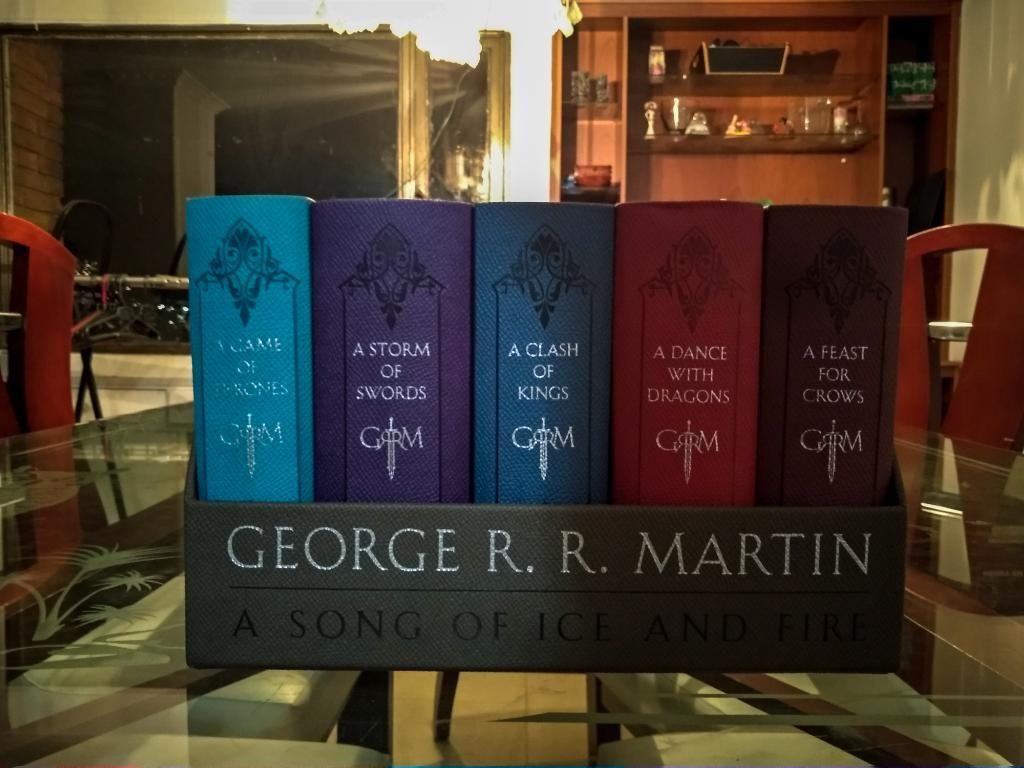Libros Game Of Thrones Colección Complet