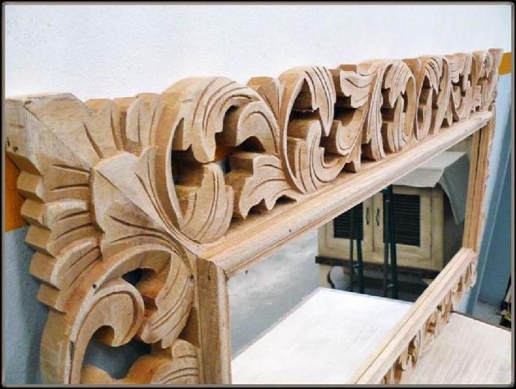 Cuadros tallados en madera bogot posot class for Espejos decorativos modernos bogota