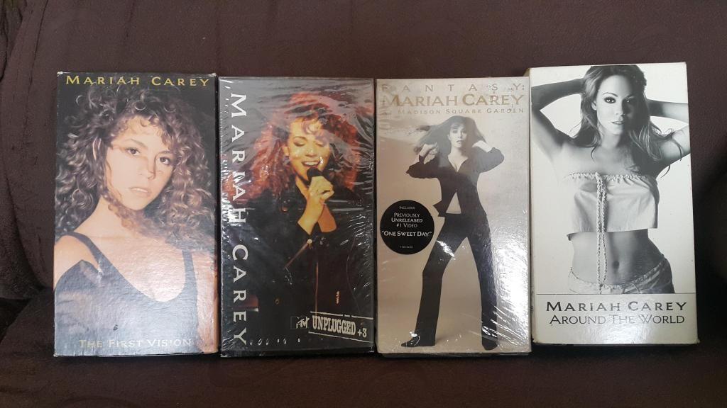 Mariah Carey Vídeos en Vhs Originales