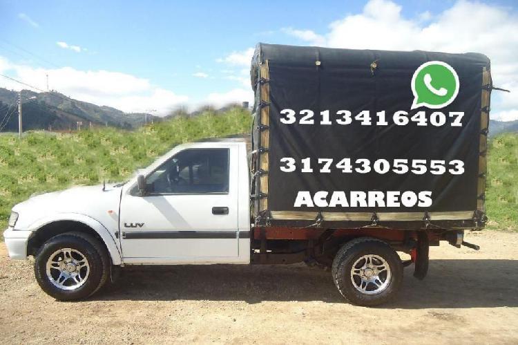 3213416407 Servicio de Acarreos y viajes, trasteos, dentro y