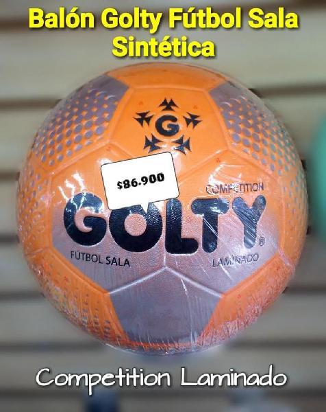 BALÓN FÚTBOL SALA SINTÉTICA GOLTY COMPETITION