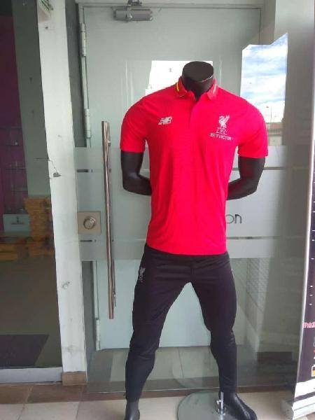 Camiseta Y Pantalon Liverpool Hombre2019
