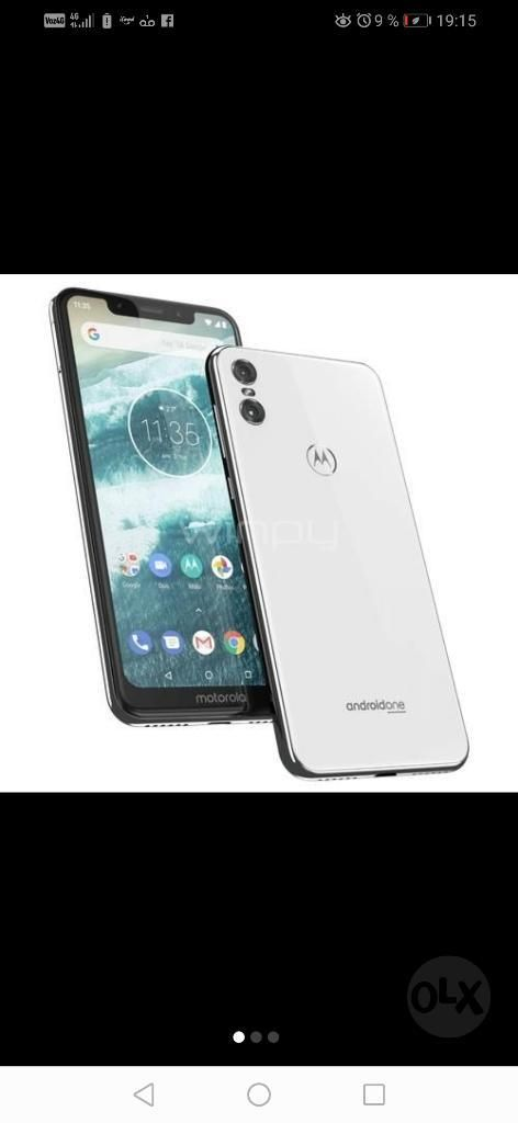 Celular Motorola One Nuevo -caja Sellada