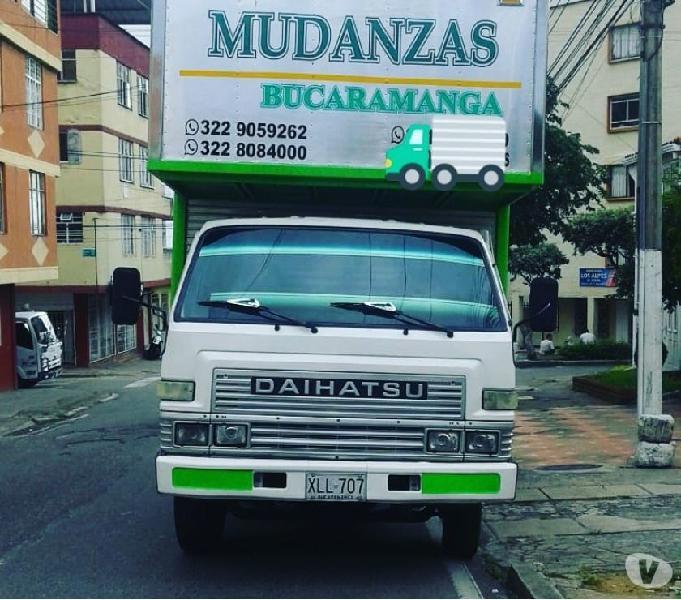 MUDANZAS BUCARAMANGA servicio urbano envíos por el País
