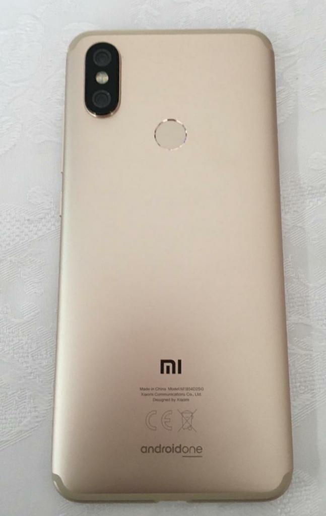 Vendo Xiaomi Mi A2 Gold 128gb