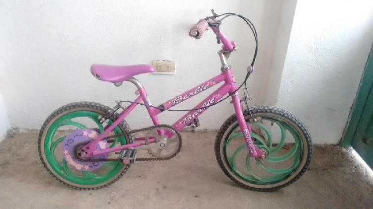Bicileta para niña pequeña para repuestos o reparación