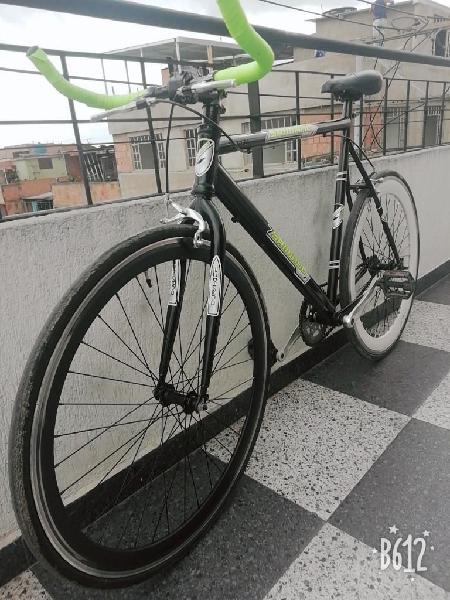 Hermosa Bici Ruta Tipo Fixie Como Nueva