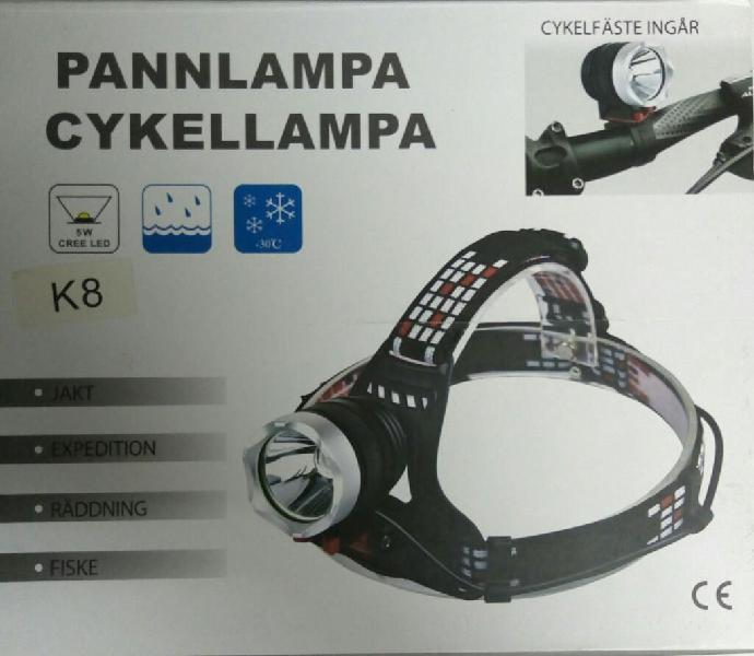 Linterna para Bicicleta Faro Recargable