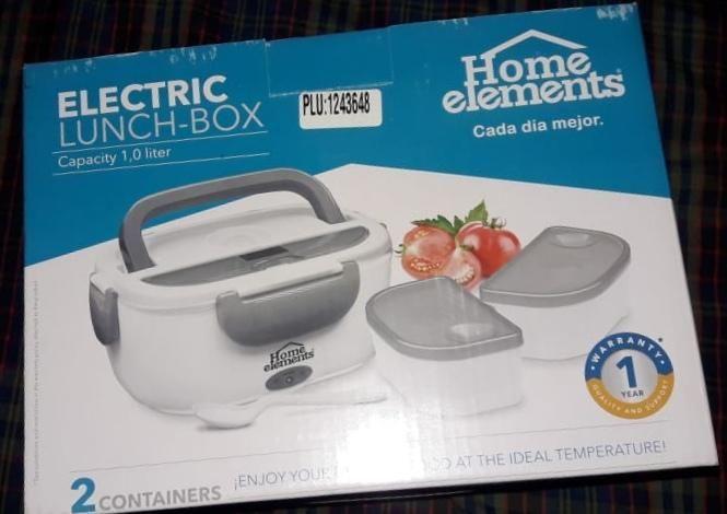 Lonchera Electrica Home Elements nueva