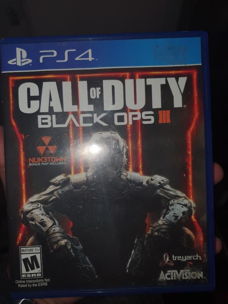 Call Of Dutty Black Ops 3 Ps4 Excelente