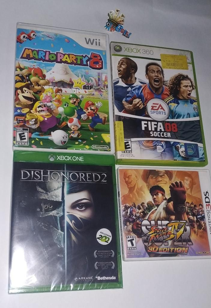 Combo Juegos Xbox One, ds Y Wii