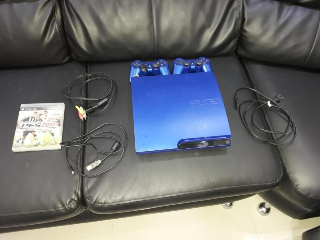Consola azul Playstation 3