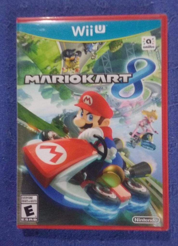 Juego Mario Kart 8. Para Nintendo Wii U. Original Nuevo